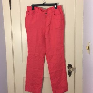 🎀Jones New York Size 10 Linen Pants